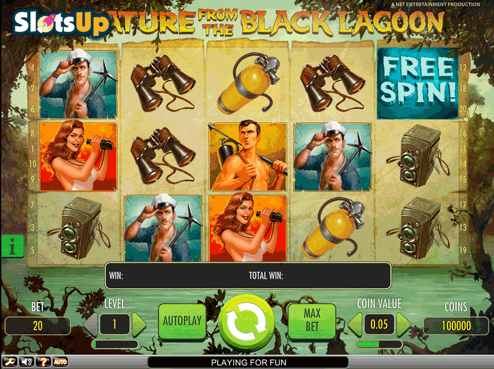 Creature from the Black Lagoon Slot Machine Online ᐈ NetEnt™ Casino Slots