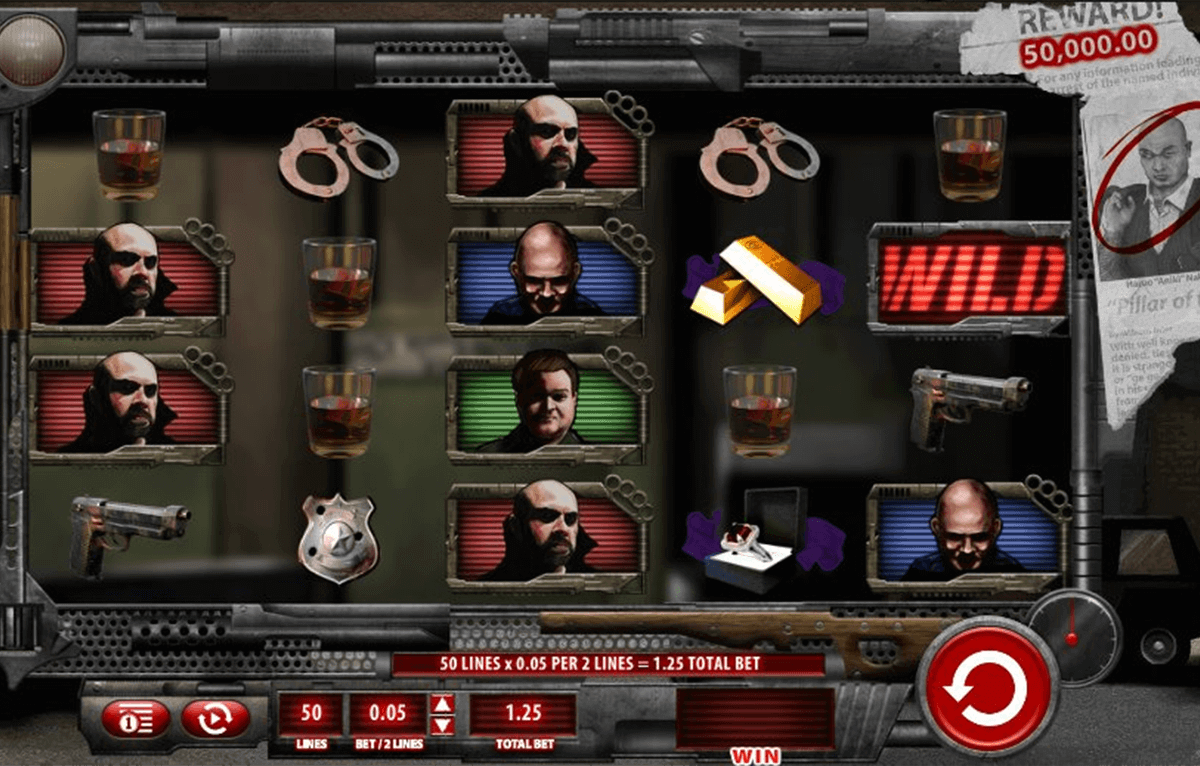 Crime Scene Netent Online Slot Machine for Real Money