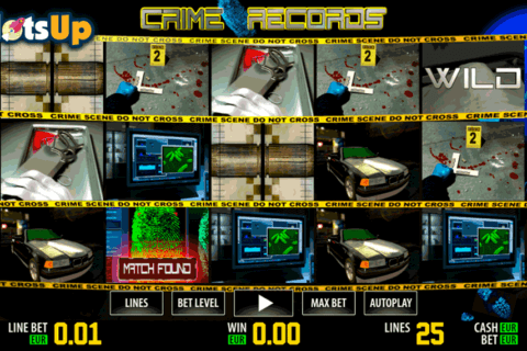 CRIME RECORDS HD WORLD MATCH CASINO SLOTS