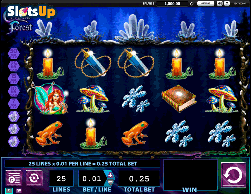 Crystal Forest Slots - Free Slot Machine Game - Play Now