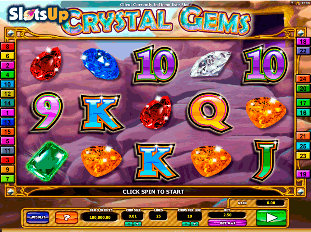 Crystal Gems™ Slot Machine Game to Play Free in 2by2 Gamings Online Casinos