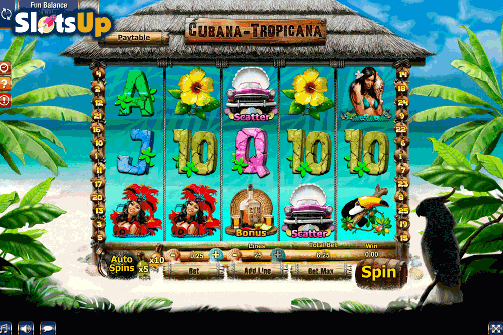 Cubana Tropicana Slot Machine Online ᐈ GamesOS™ Casino Slots
