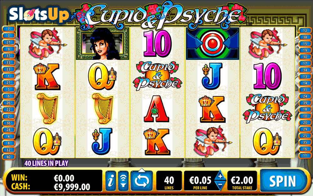 cupid psyche bally casino slots