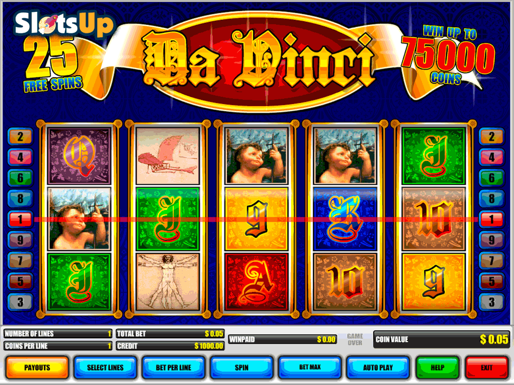 Leonardo Slot Machine - Play Online for Free Instantly