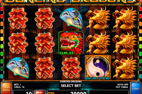 DANCING DRAGONS CASINO TECHNOLOGY SLOT MACHINE