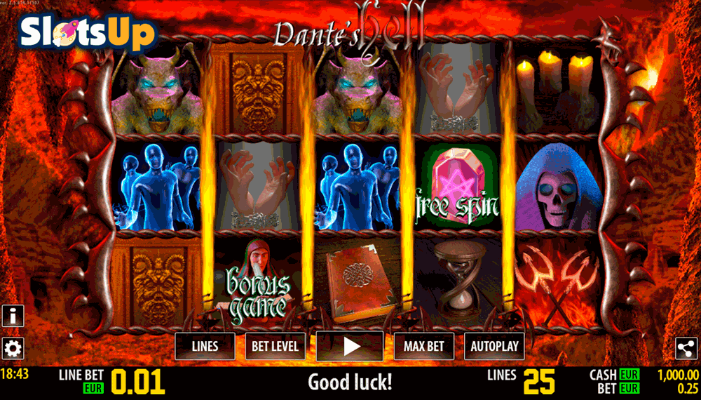 DANTE HELL HD WORLD MATCH CASINO SLOTS