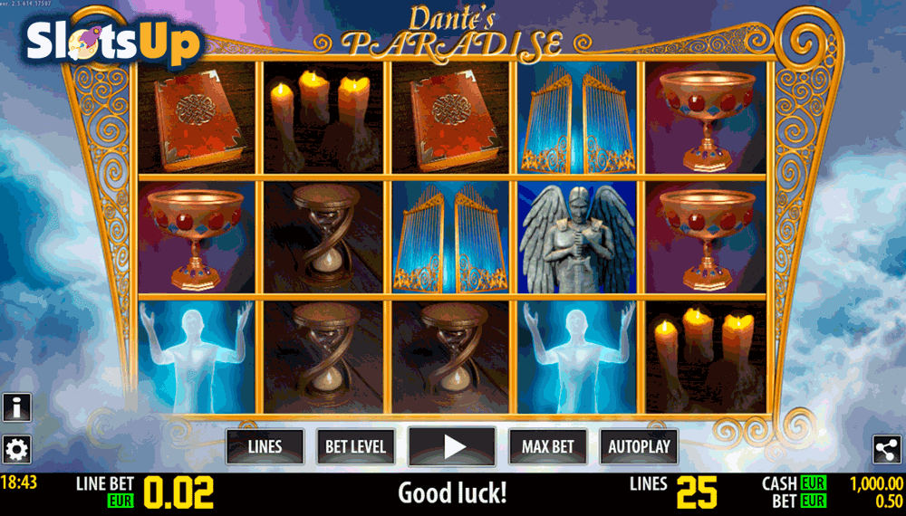 DANTE PARADISE HD WORLD MATCH CASINO SLOTS