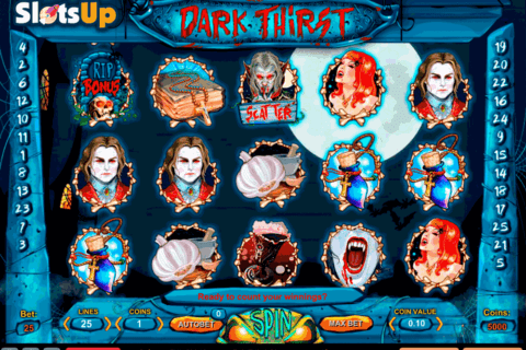 DARK THIRST 1X2GAMING CASINO SLOTS