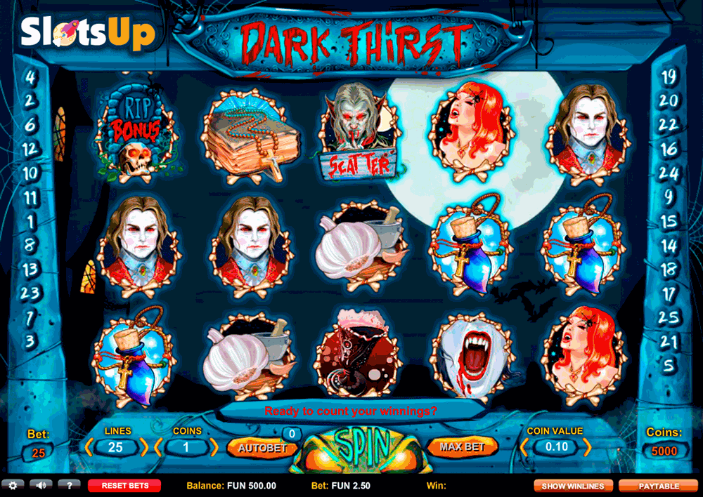 Dark Thirst Slot Machine Online ᐈ 1X2gaming™ Casino Slots
