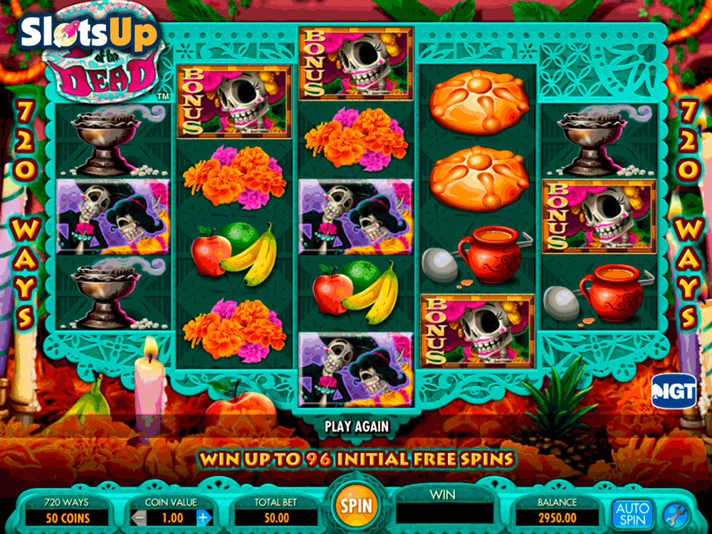 day of the dead igt casino slots
