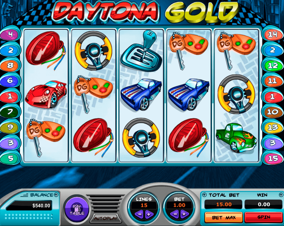 Daytona Gold Slot Machine Online ᐈ Pragmatic Play Casino Slots