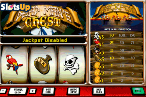 dead mans chest openbet casino slots