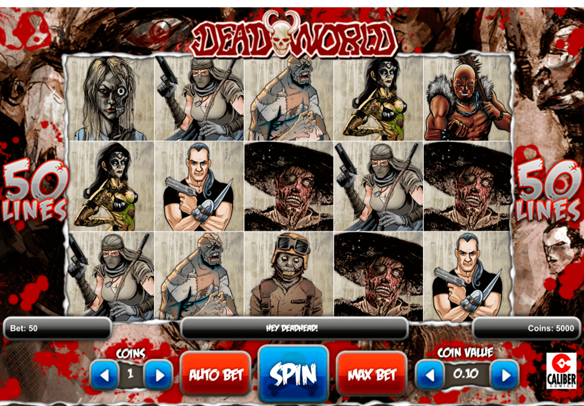Deadworld Slot - Play 1x2 Gaming Casino Games Online