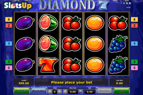 diamond 7 novomatic casino slots 480x320