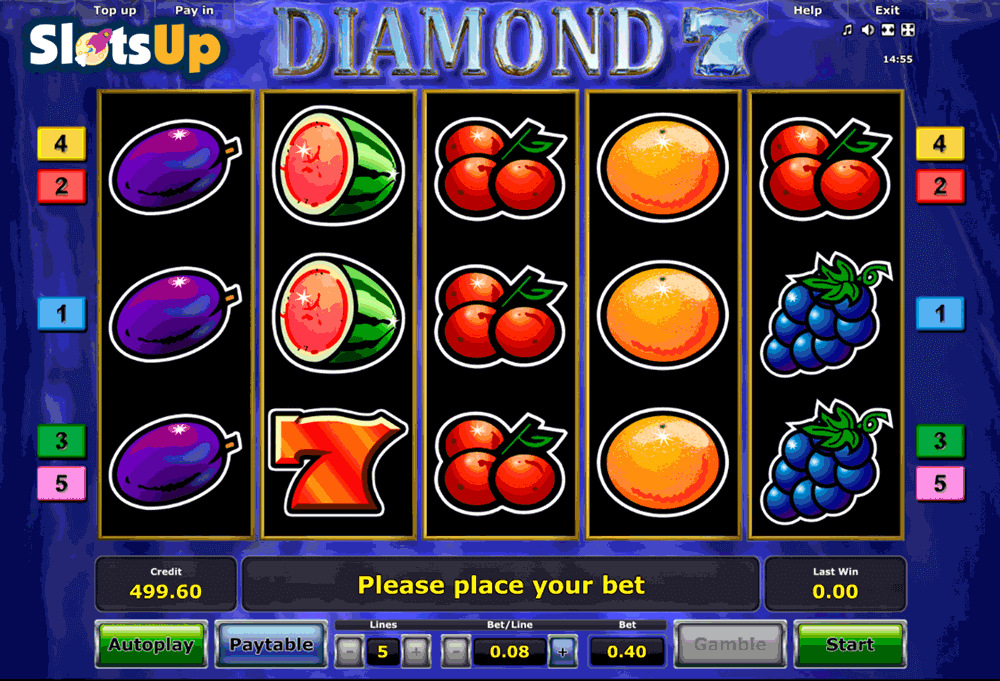 DIAMOND 7 NOVOMATIC CASINO SLOTS