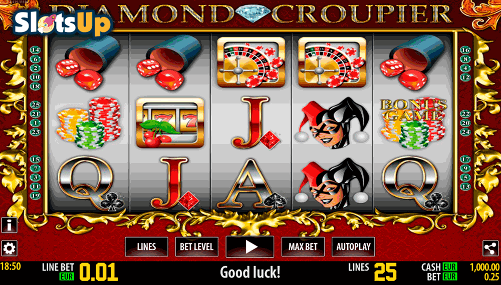 DIAMOND CROUPIER HD WORLD MATCH CASINO SLOTS