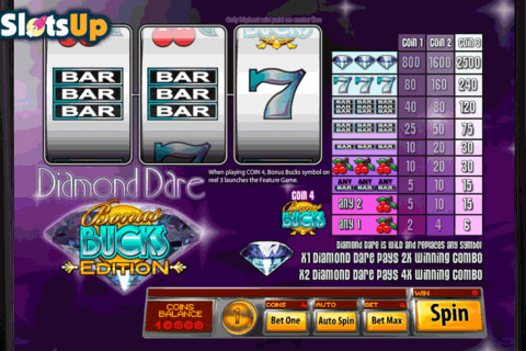 DIAMOND DARE BUCKS SAUCIFY CASINO SLOTS