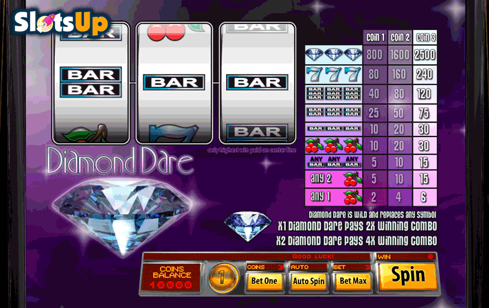 Jackpot Diamonds Slot Machine - Try the Free Demo Version