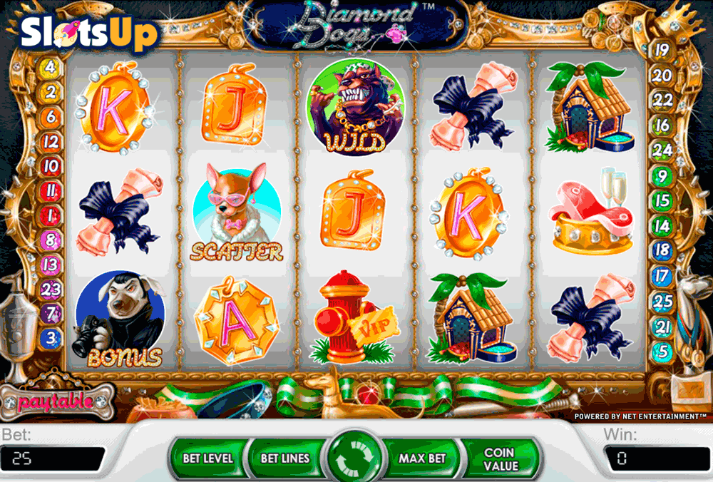 diamond dogs netent casino slots