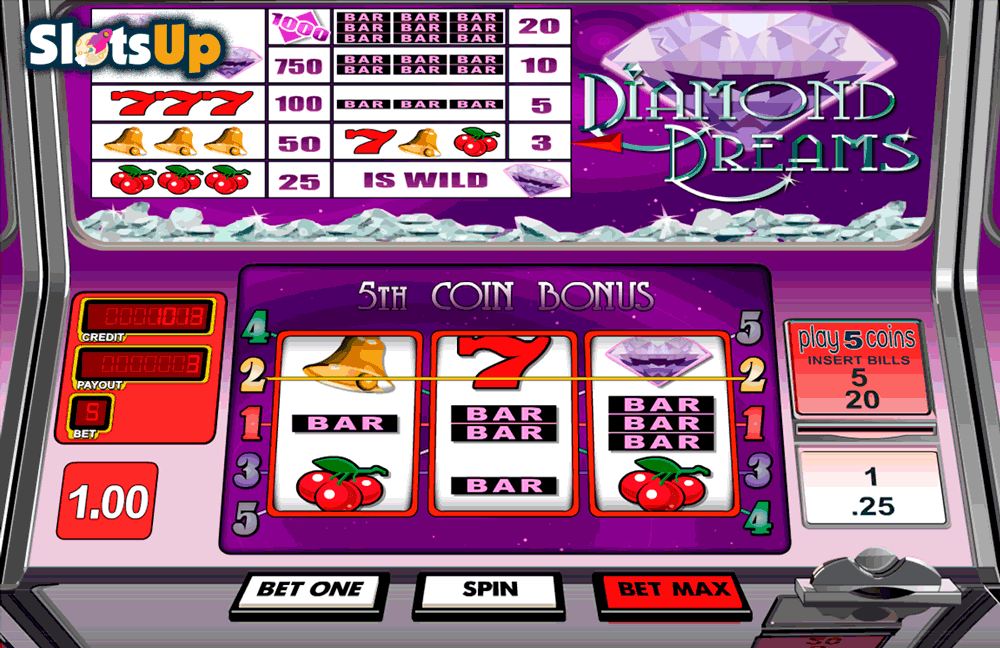 Diamond Dreams Slots - Play Diamond Dreams Slots from BetSoft