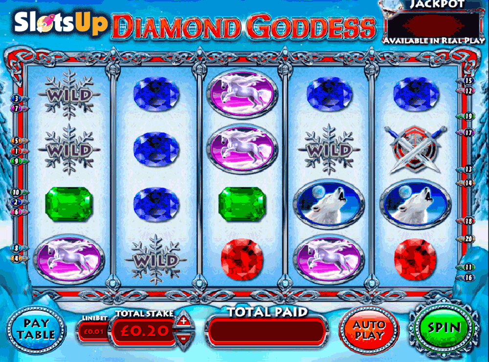 diamond goddess openbet casino slots