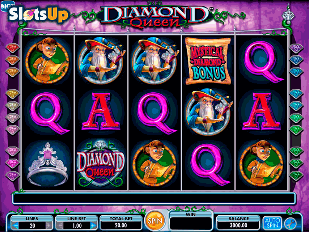 Diamond Jackpots Slot - Play this Video Slot Online