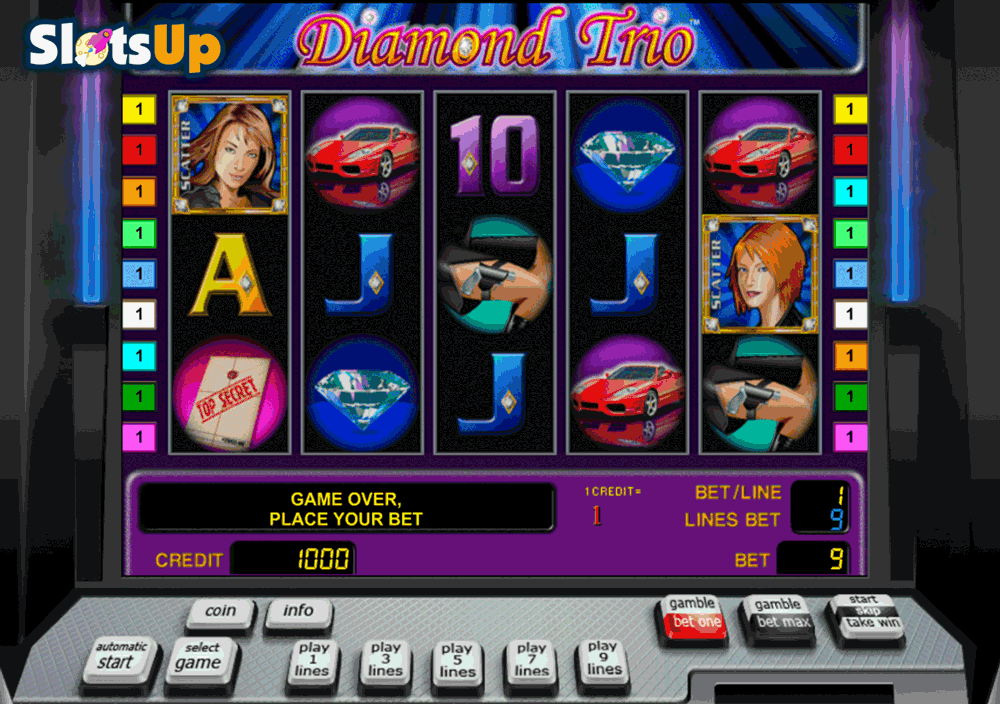 Cherry Trio Slot Machine - Free to Play Online Casino Game