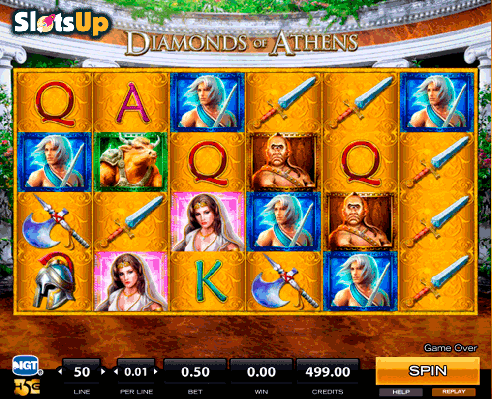 Diamonds of Athens slot - spil online gratis