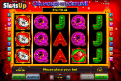 DIAMONDS OF FORTUNE NOVOMATIC CASINO SLOTS