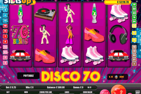 Disco 70 Slots - Free to Play Online Casino Game