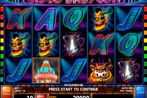 DISCO BABYLON CASINO TECHNOLOGY SLOT MACHINE