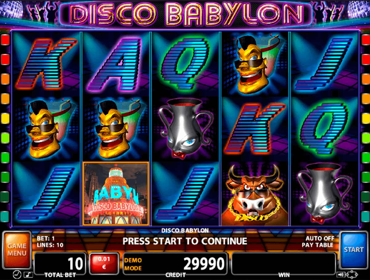 Disco Babylon Slot Machine Online ᐈ Casino Technology™ Casino Slots