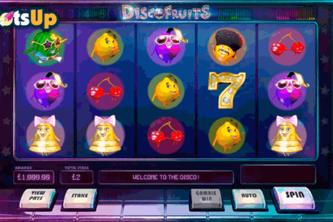 DISCO FRUITS CAYETANO CASINO SLOTS