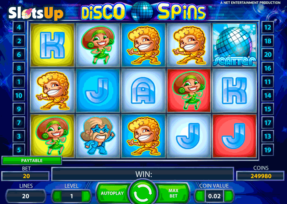 disco spins netent casino slots