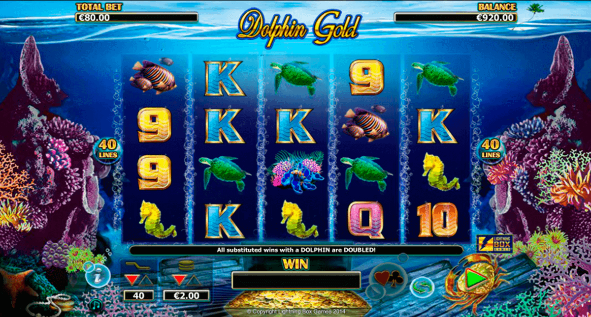 Dolphin Gold Slot Machine Online ᐈ Lightning Box™ Casino Slots