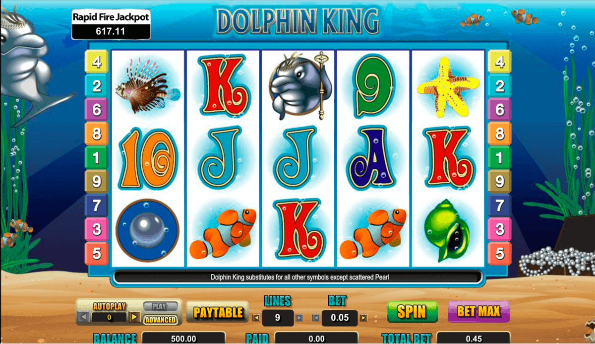 Dolphin King Slot Machine Online ᐈ Amaya™ Casino Slots