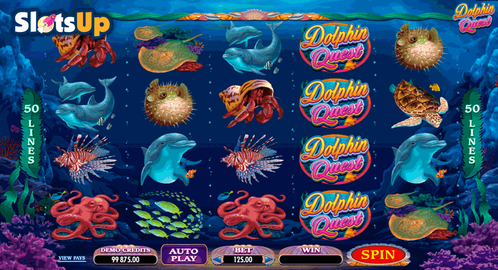 Dolphin Quest™ Slot Machine Game to Play Free in Microgamings Online Casinos