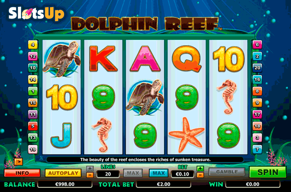 Play Dolphin Reef Online Slots at Casino.com UK