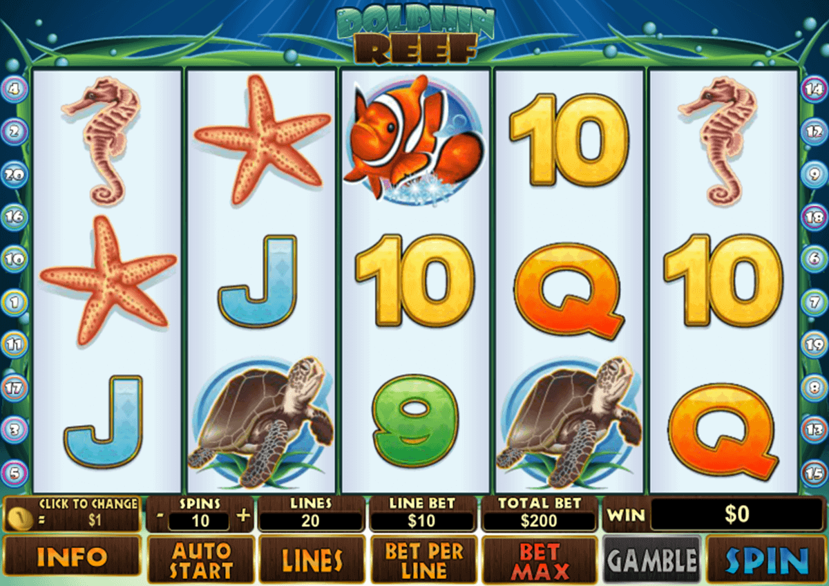 Treasure Reef Slots - Play Online Slot Machines for Free
