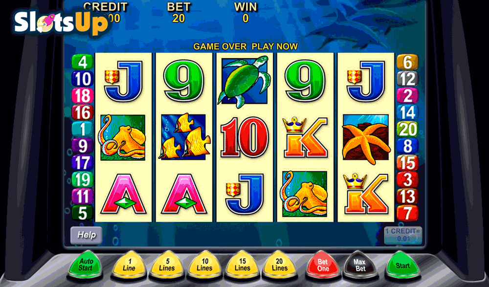 DOLPHIN TREASURE ARISTOCRAT CASINO SLOTS