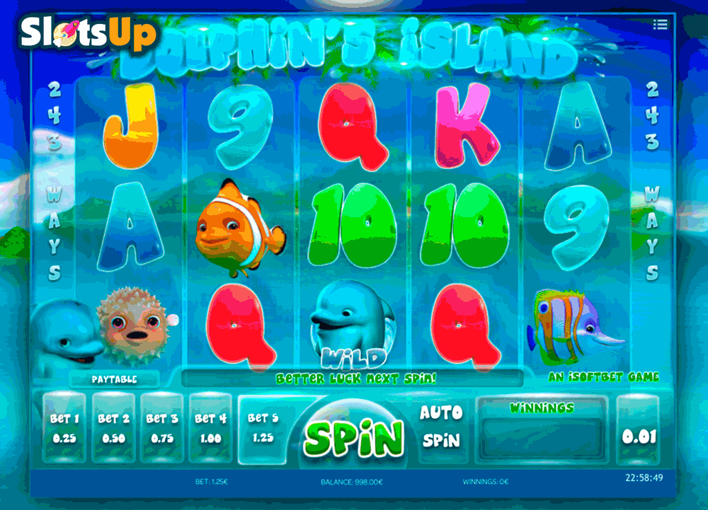 Dolphin's Luck Slot - Free to Play Online Casino Game