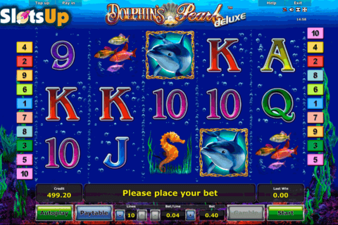 DOLPHINS PEARL DELUXE NOVOMATIC CASINO SLOTS