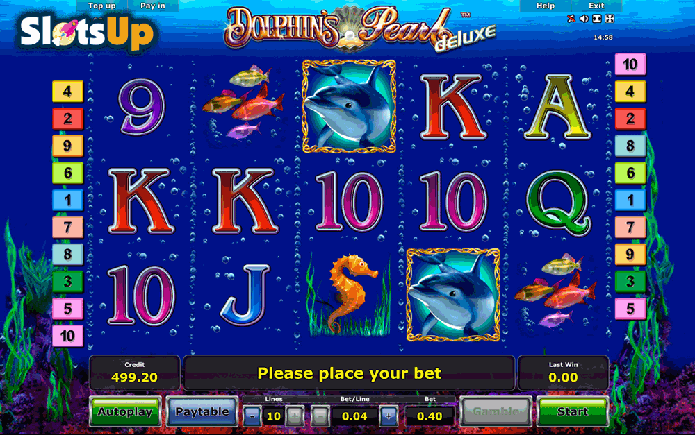 real slot games online dolphin pearls