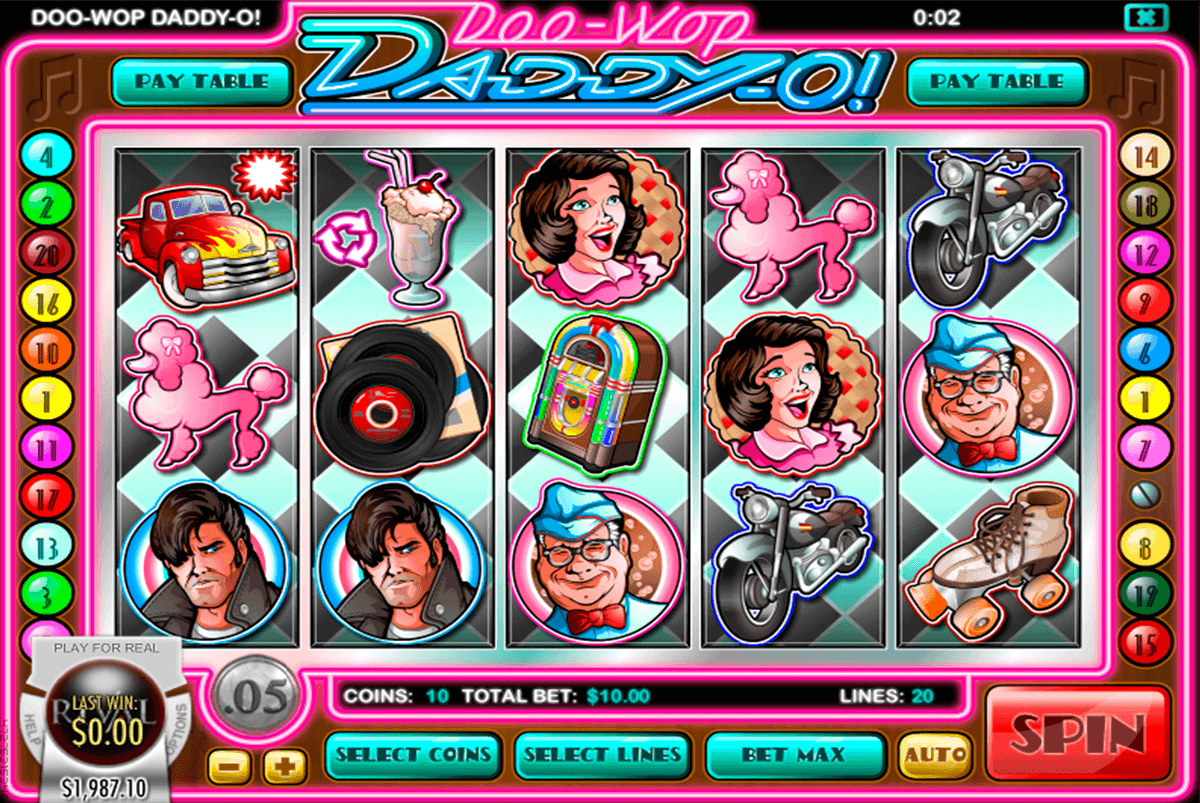 Doo Wop Daddy-O Slot Machine Online ᐈ Rival™ Casino Slots