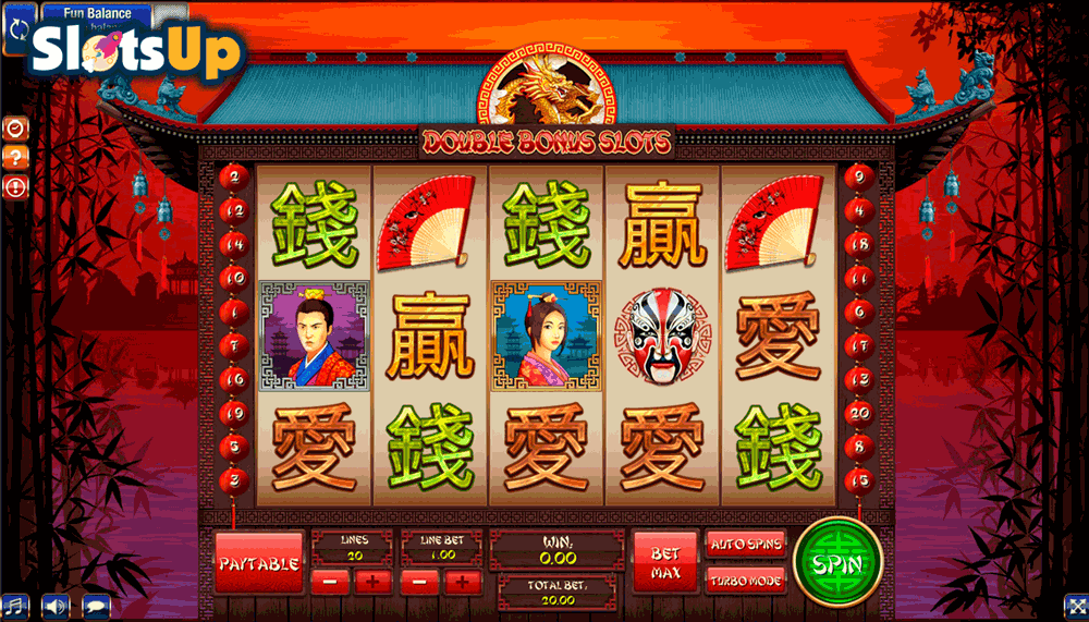 DOUBLE BONUS SLOT GAMESOS CASINO SLOTS