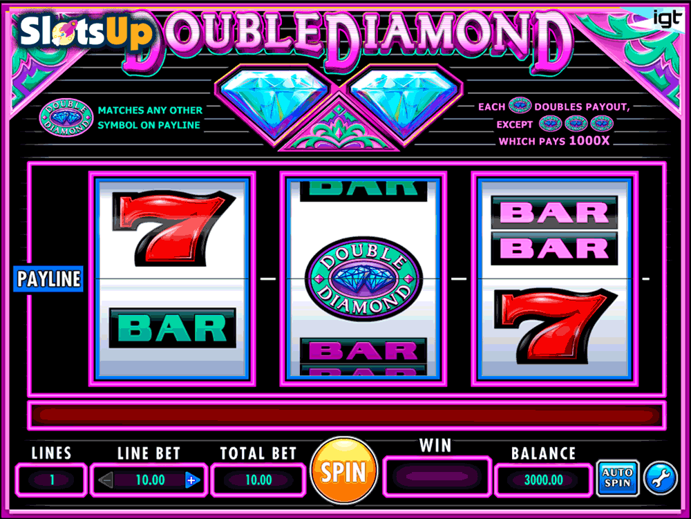 Double Diamond Slot Machine Online ᐈ IGT™ Casino Slots