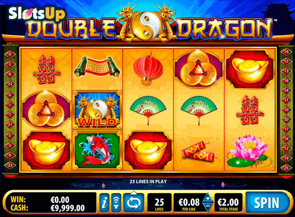 Double Dragon™ Slot Machine Game to Play Free in Ballys Online Casinos