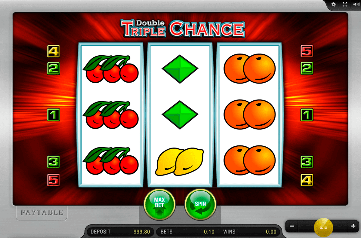 DOUBLE TRIPLE CHANCE MERKUR CASINO SLOTS