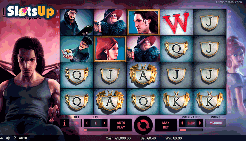 Dracula™ Slot Machine Game to Play Free in NetEnts Online Casinos