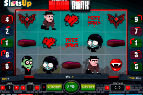 DRACULAS BLOOD BANK 1X2GAMING CASINO SLOTS